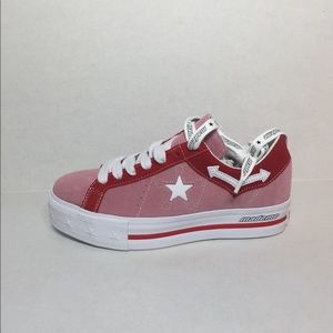 🛍CONVERSE ONE STAR PLATINUM OX